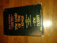 J.R.R. Tolkien Lord of the Rings Box Set Including Hobbit