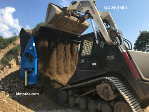 SOIL SAND ROCK & COMPOST SCREENERS