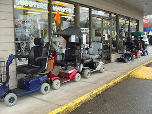 Used Scooters $600 to $2200