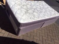 Small double 4ft bed with storage/ FREE DELIVERY
