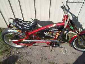 Pacific Coast Chopper bicycle with new Skyhawk motor kit
