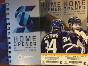 Canadiens v. Leafs Home Opener! Oct. 3