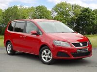 SEAT ALHAMBRA CR TDI ECOMOTIVE S (red) 2013