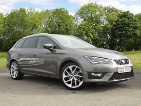 SEAT LEON TDI FR TECHNOLOGY (grey) 2016