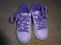 Girls Heely's size 1 (purple) - good condition NEW PRICE