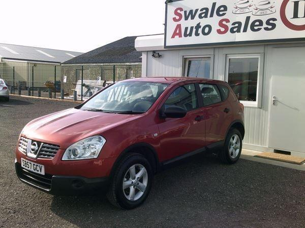 2008 NISSAN QASHQAI 1.5 DCI VISIA, FULL SERVICE HISTORY, SPARE AND REPAIRS