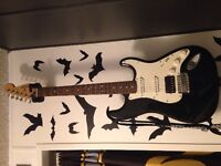 Squier Electric Guitar and Amp