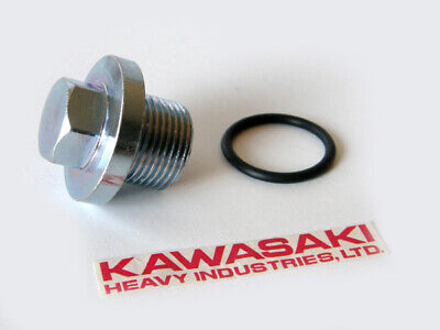 Kawasaki OIL PAN DRAIN PLUG BOLT & O-RING seal z1 kz1300 kz1100 kz1000 kz900 kz for sale  Shipping to Ireland