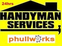 HANDYMAN SERVICES - ODD JOBS - TV BRACKET - IKEA FLAT PACK ASSEMBLY - CARPENTER - PAINTER - PLUMBER