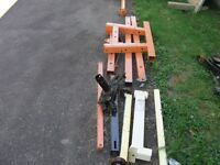 2 ton engine hoist, stand and leveller