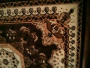 3 Large 8x11 Persian style area rugs