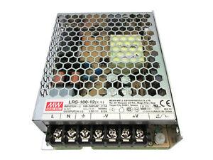 MeanWell-bloque-de-alimentacion-CV-100W-85A-LRS-100-12-Transformador-Desde-AC