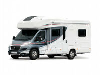 NEARLY NEW LUXURY FIXED BED MOTORHOME