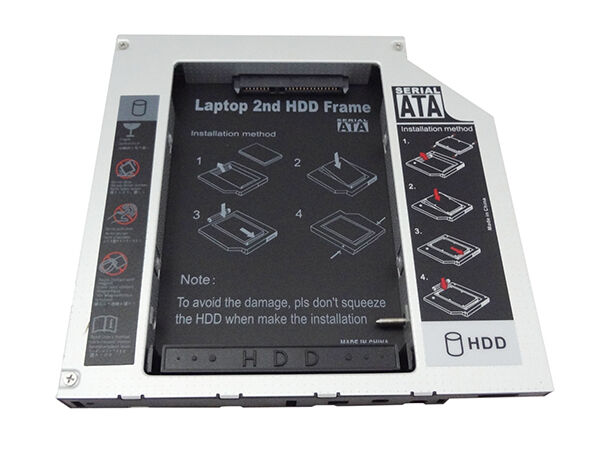 ASUS N56VZ Second Hard Drive HDD SSD Caddy