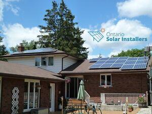 Solar panels microFIT & Net Metering programs Kitchener / Waterloo Kitchener Area image 3