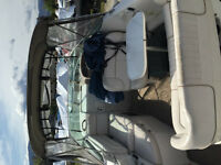 Boat Cabin Cruiser Signature 240 loaded and Zieman trailer