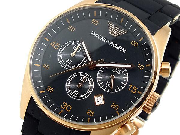 New Men's Emporio Armani AR5905 Watch Tags Warranty Box RRP $549