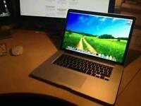 """MacBook Pro 15.4 """" Retina A1398 2.3 Ghz i7 Quad. 8GB RAM 256gb SSD"""