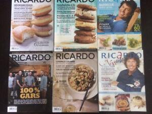 10 magazines de cuisine Ricardo