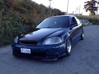 ###. Awesome built Honda Civic h/b.  Low, Loud, and Quick! .###