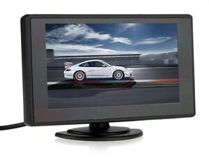 Digital LCD TFT Car Rear View Back up Monitor 4.3 inch 4:3 Display