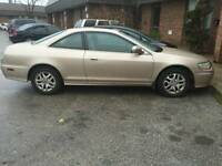 2002 Honda Accord EX-L 1Owner Coupe (2 door)