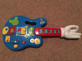 Mickey Mouse Clubhouse Toy Electric Guitar