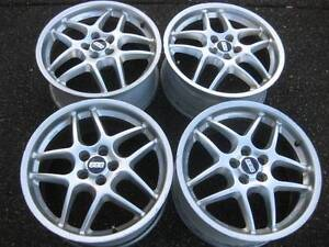 "set of genuine BBS 17X7.5"" Rims in good condition 5x100 ET38"