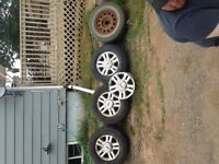"""4 18"""" ford rims"""