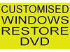 Customised Windows 7 or 8 OS Restore Install DVD Disc for your Laptop - Any Make Any Model (CD Disk) Cardonald, Glasgow