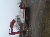 22 tonne excavator- great hydraulics - strong machine