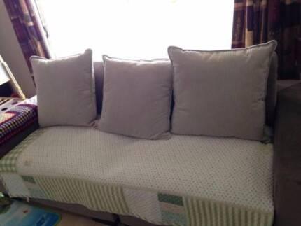 purple sofa bed mattress cushion couch furniture home pillows sofas gumtree australia greater dandenong noble park