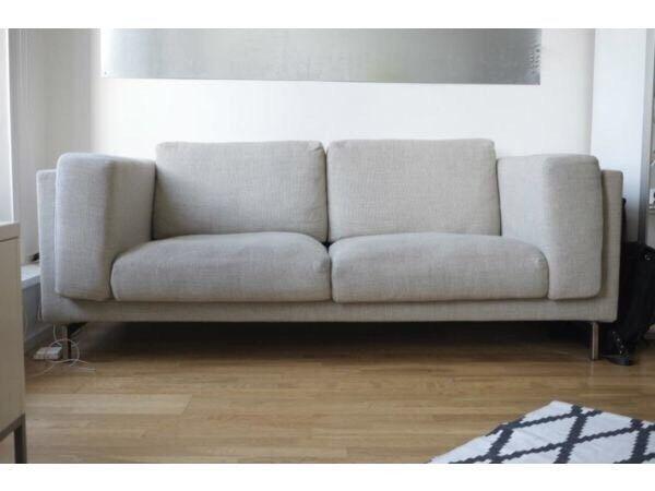 IKEA Nockeby Two Seat Sofa