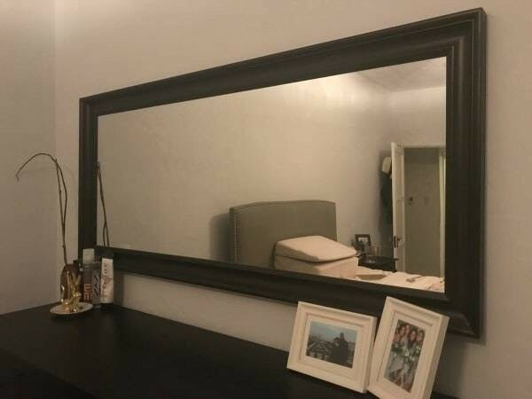 IKEA Hemnes Mirror Black/Brown 74x165 Cm | In Acton, London | Gumtree