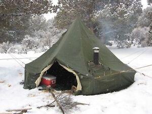 10 Man u0026 5 Man Arctic Bell Tent Canadian Military Surplus & Ozark Trail 13 X 10 Tent in very good shape | Fishing Camping ...