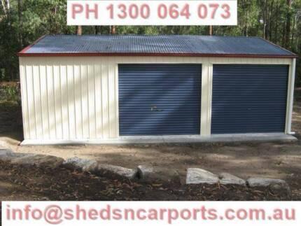 Steel Shed | Other Home u0026 Garden | Gumtree Australia Brisbane North West - Karana Downs | 1194542324 & Steel Shed | Other Home u0026 Garden | Gumtree Australia Brisbane North ...