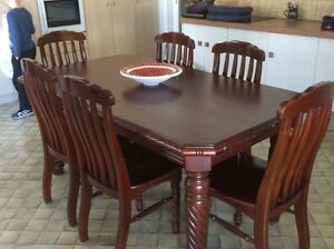 Timber Dining Table - send through offers. Millmerran Toowoomba Surrounds Preview