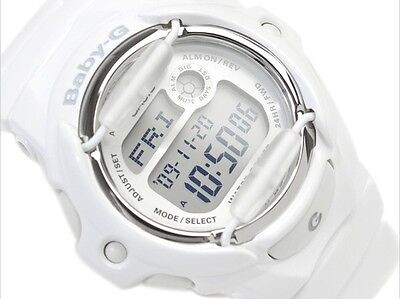 Casio Baby-G * BG169R-7A Glossy Solid White w/ Databank for Women COD PayPal
