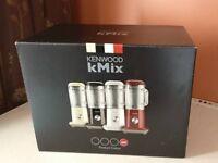 Red Kenwood kMix Blender still boxed