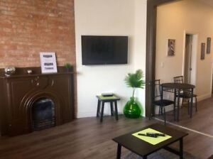 Furnished Upscale Studio - Near Queens Includes WIFI/SAT/LAUNDRY