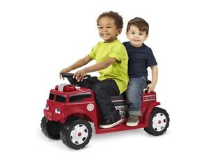Radio flyer battery operated fire truck for 2