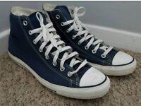Mens High Top Blue Converse UK 11