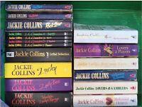 Jackie Collins novels