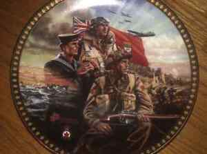 Collectable war plate