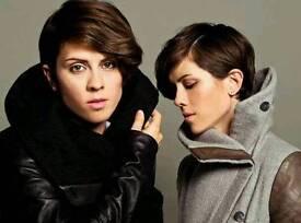 Tegan and Sara tickets x2. Glasgow o2 ABC 17/02/17