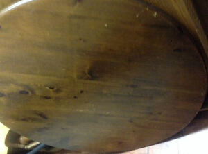 """Dining Table - Pine 46"""" - reduce to sell-OBO"""