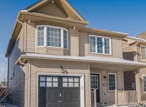 Newer Detached 3 bedroom home Open concept Available immediately