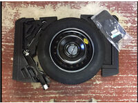 Space saver tyre kit Nissan qashqai new shape