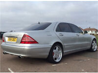 Mercedes S500 conversion to S55 AMG