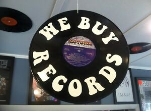 RECORDS WANTED- We buy LARGE & SMALL RECORD COLLECTIONS, CD's